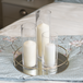 Glass Candle Cylinders - Set of 3 | M&W - Image 2