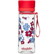 Aladdin Aveo Water Bottle 0.35L Red (Graphics)