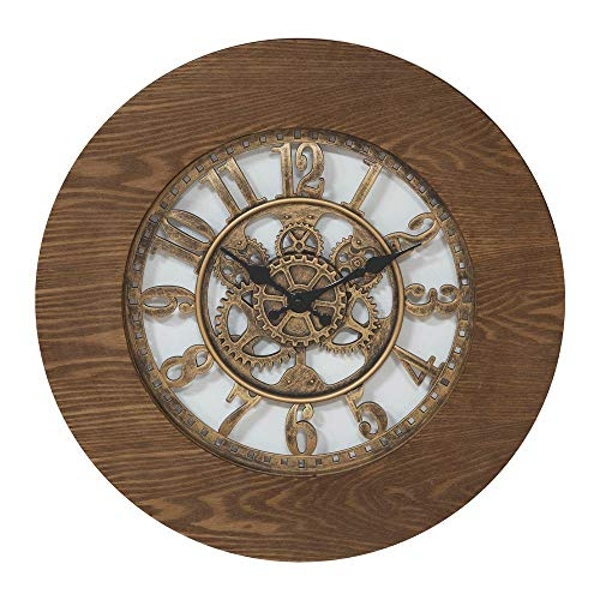 Hometime Wall Clock Cut Out Numbers 44cm