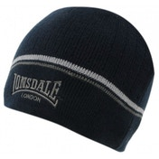 Lonsdale Pull Down Hat One Size Navy