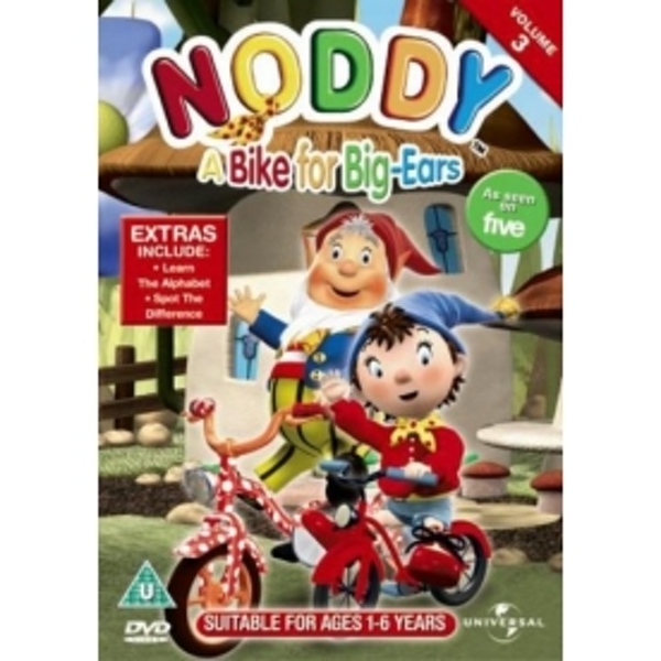 Noddy: A Bike For Big Ears DVD