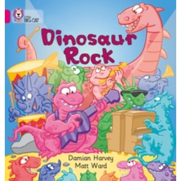 Dinosaur Rock: Band 01A/Pink A (Collins Big Cat) by Damien Harvey (Paperback, 2005)