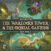 The Warlock's Tower & The Crystal Canyons Wildlands: Map Pack 1