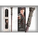 Harry Potter PVC Wand and Prismatic Bookmark by The Noble Collection - Image 2