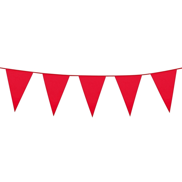 Bunting banner Red