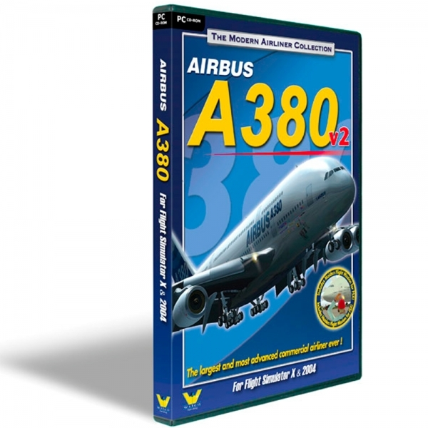Airbus A380 V2 Modern Airliner Collection Game PC
