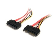12in 22 Pin SATA Power and Data Extension Cable