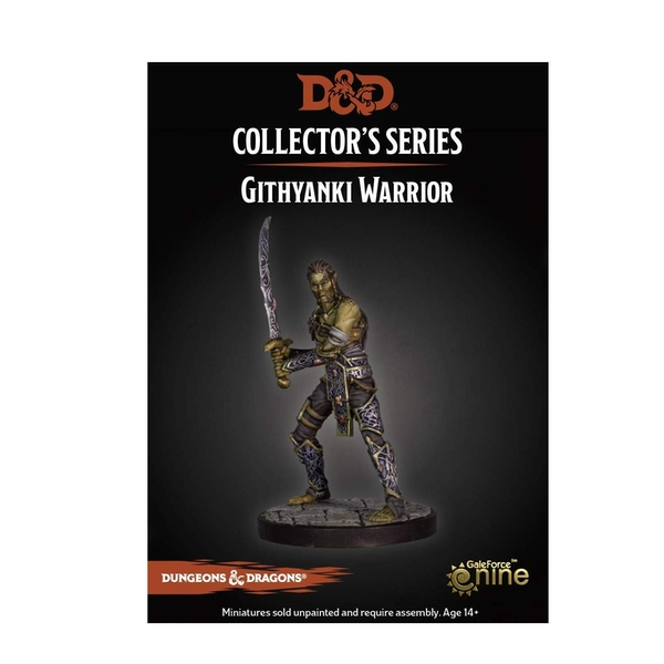 Dungeons & Dragons Collector's Series Dungeon of the Mad Mage Miniature Githyanki Warrior