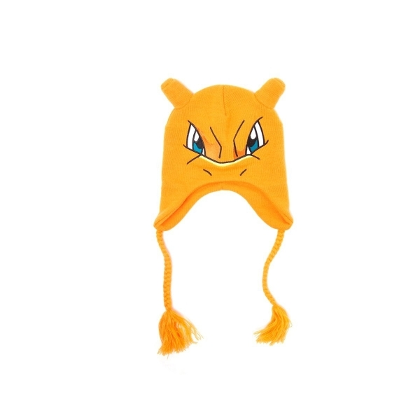 4af7fc3874a Pokemon Ski Beanie Laplander Charizard (Orange) - shop4megastore.com
