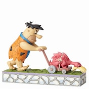 Mower-a-Saurus Fred (The Flintstones) Jim Shore Figurine