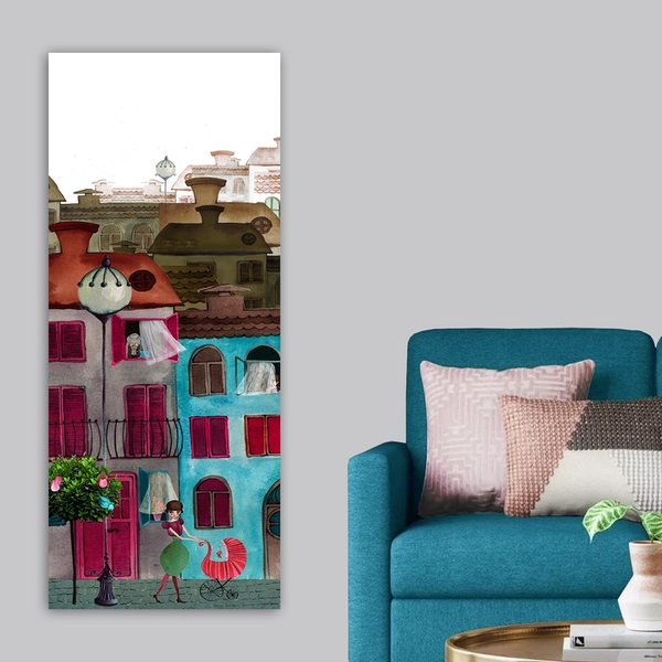 DKY197569_50120 Multicolor Decorative Canvas Painting