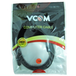 VCOM 3.5mm (M) Stereo Jack to 3.5mm (M) Stereo Jack 3m Black Retail Packaged Cable - Image 2