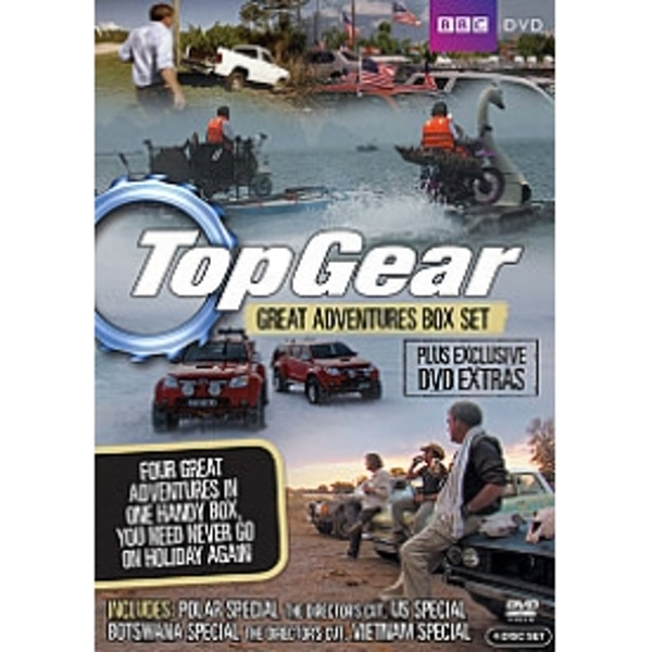 Top Gear - The Great Adventures Collection DVD
