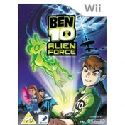 Ex-Display Ben 10 Alien Force Game Wii Used - Like New