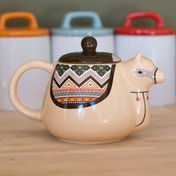 Thumbs Up Llama Teapot