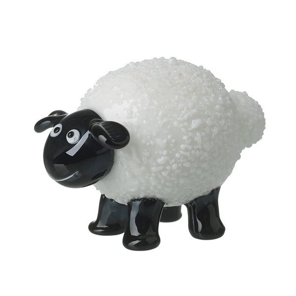 Glass Sheep Ornament By Heaven Sends