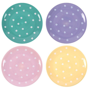 Polka Splodge Small Plate Pack Of 4