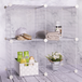 4 Cube Wire Storage Shelves | Pukkr White - Image 4