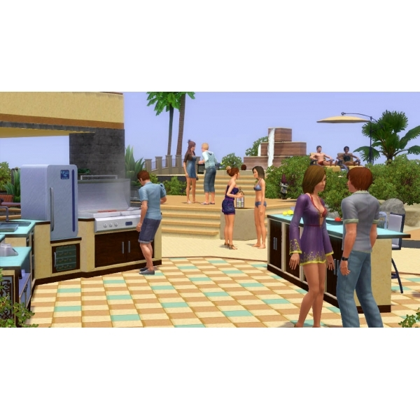 The Sims 3 Outdoor Living Stuff Expansion Pack Game PC & MAC - Image 2