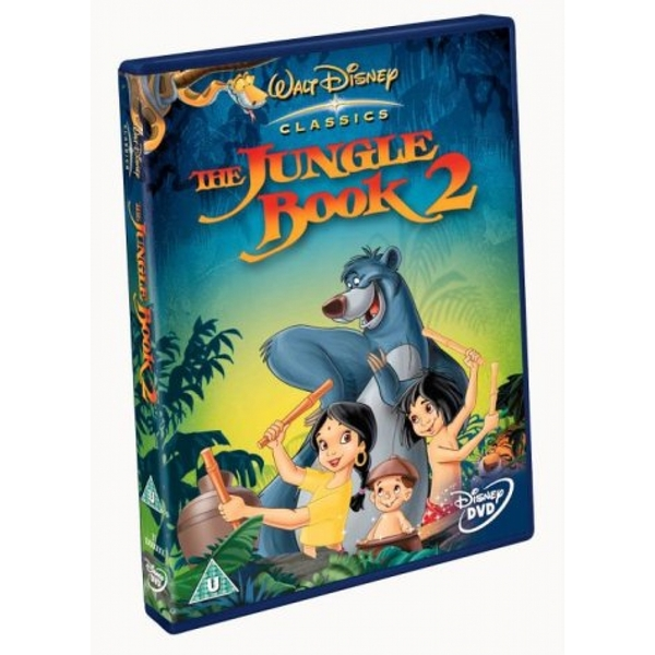 Jungle Book 2 2003 DVD
