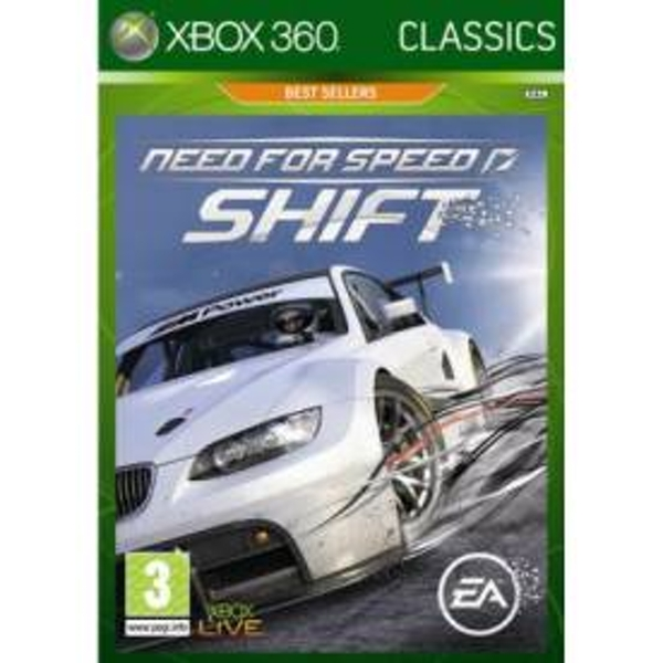 Need For Speed Shift Game (Classics) Xbox 360