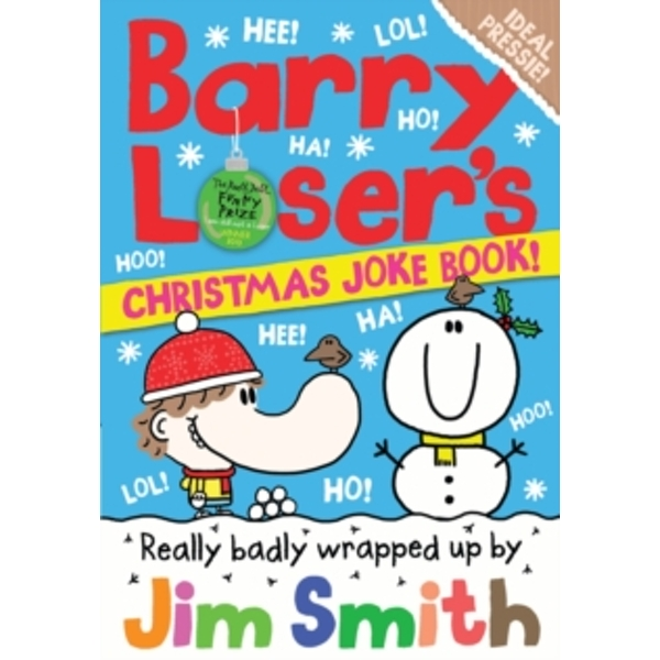 Barry Loser's Christmas Joke Book by Jim Smith (Paperback, 2017)