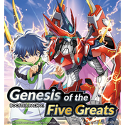 Cardfight Vanguard TCG: overDress Genesis of the Five Greats Booster Box (16 Packs)