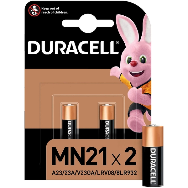 Duracell 12v Security Cell 2 Pack MN21-X2