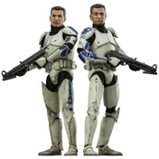 Sideshow The Clone Wars Clone Troopers Echo and Fives Sixth Scale Figures