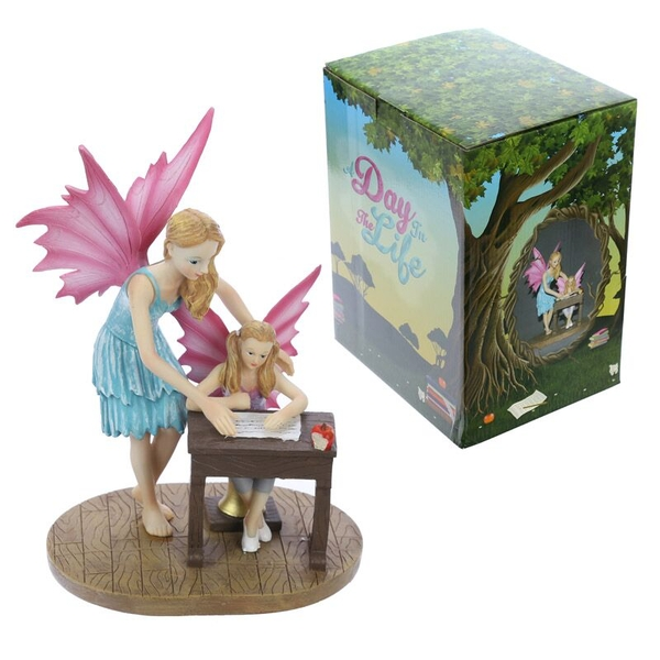School Time Collectable Fairy Figurine