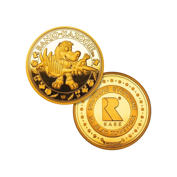Banjo-Kazooie Collector's Limited Edition Coin (Gold)