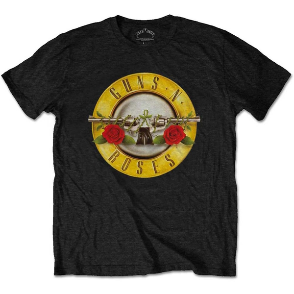 Guns N' Roses - Classic Logo Kids 5 - 6 Years T-Shirt - Black