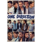 One Direction Scrap Book Maxi Poster