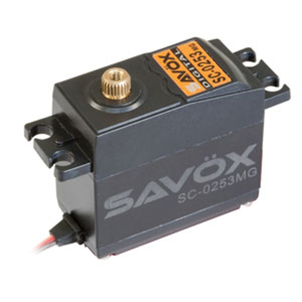 Savox Std Size Digital Servo Metal Gear 6Kg/0.15S@6V