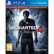 Uncharted 4 A Thief's End Launch Edition PS4 Game
