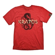 God of War - Kratos Symbol Logo Men's Large T-Shirt - Red
