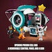 Lego Movie 2 Sweet Mayhem's Systar Starship with Emmet and Lucy Minifigures - Image 2
