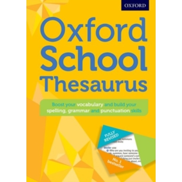 Oxford School Thesaurus (2016)