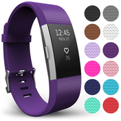 Yousave Activity Tracker Strap Single - Plum (Large)