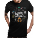 Suicide Squad - Logo And Icons Men