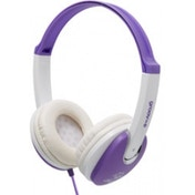 Groov-e GV590VW Kids DJ Style Headphone - Violet/White