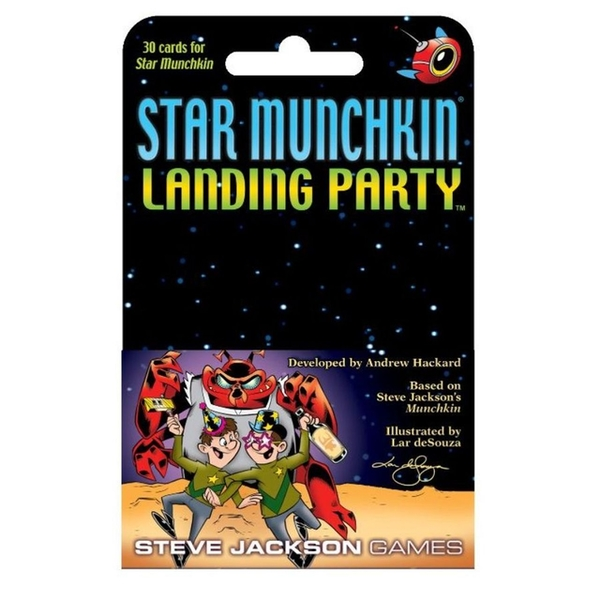 Star Munchkin: Landing Party Expansion