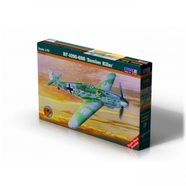 Mistercraft bf 109g 6 r6 bomber killer model kit for Craft and hobby supplies