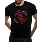 Deadpool - Bad Good Men's Large T-Shirt - Black