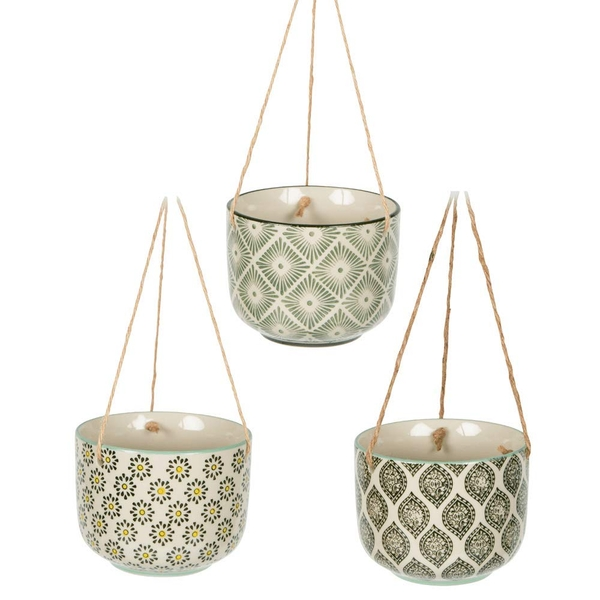 Sass & Belle Ria Hanging Planter (1 Random Supplied)