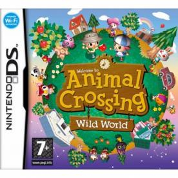 Animal Crossing Wild World Game DS