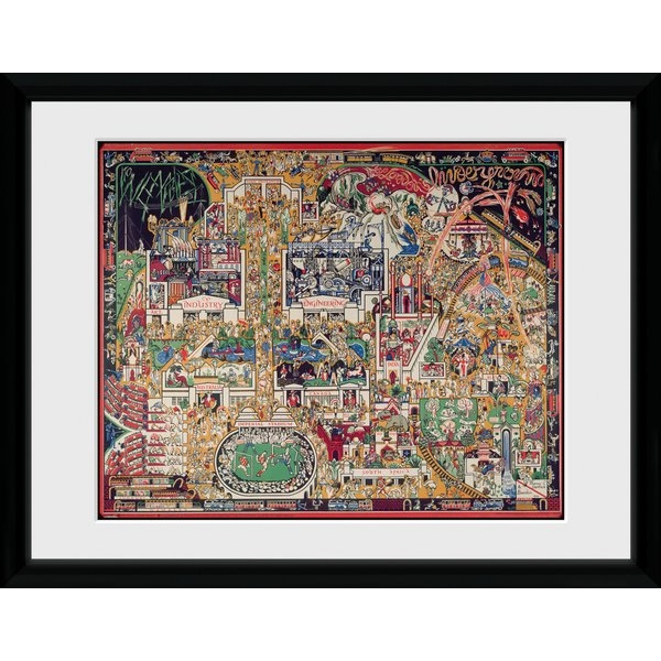 """Transport For London Empire 12"""" x 16"""" Framed Collector Print"""