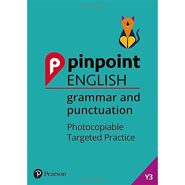 Pinpoint English Grammar and Punctuation Year 3 Photocopiable Targeted Practice Spiral bound 2018