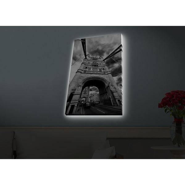 4570HDACT-078 Multicolor Decorative Led Lighted Canvas Painting