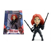 Black Widow (Captain America Civil War) 4 Inch Diecast Metal Figure